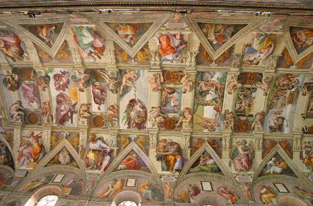 Teto da capela Sistina - Roma